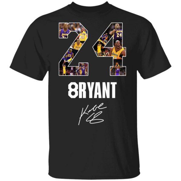 24 8ryant Kobe Bryant 1978 2020 Shirt, Hoodie, Tank Apparel
