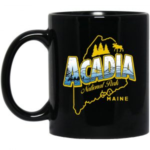 Acadia National Park Maine Mug Coffee Mugs