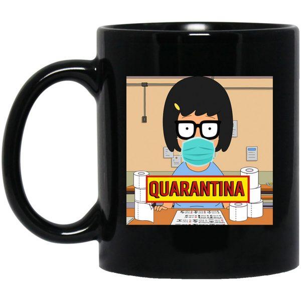 Bob's Burgers Tina Quarantine 2020 Mug Coffee Mugs 3