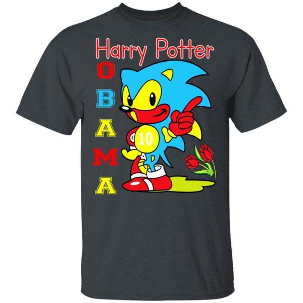 Harry Potter Obama Sonic Version Shirt, Hoodie, Tank Apparel