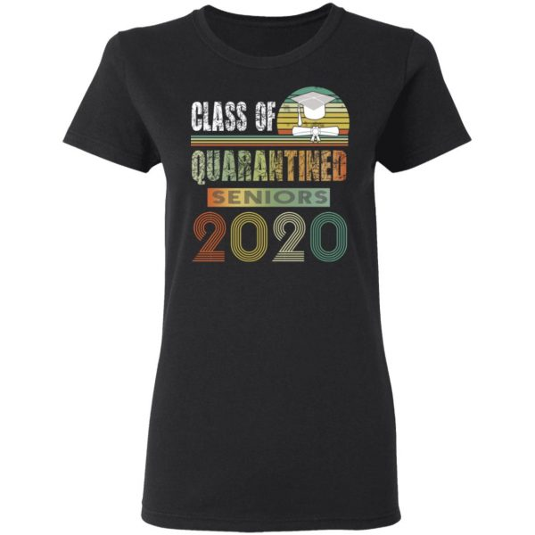 Class Of Quarantined Seniors 2020 Shirt, Hoodie, Tank