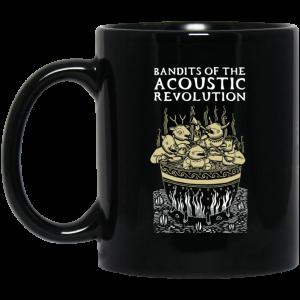 Bandits Of The Acoustic Revolution Black Mug Coffee Mugs