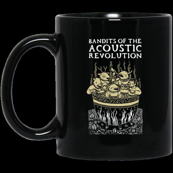 Bandits Of The Acoustic Revolution Black Mug Coffee Mugs 3