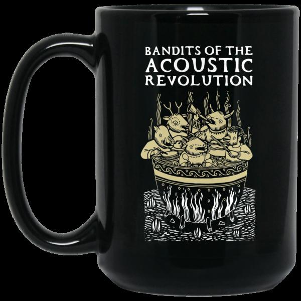 Bandits Of The Acoustic Revolution Black Mug Coffee Mugs 4