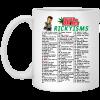 Trailer Park Boys Rickyisms White Mug Best Selling