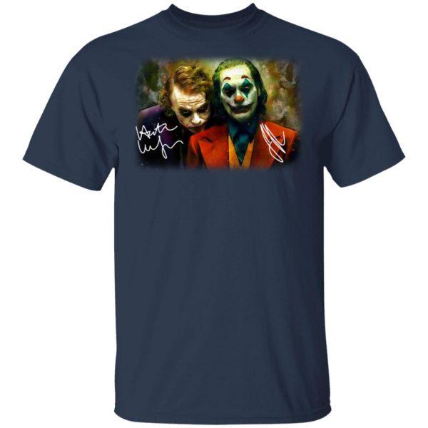Joaquin Phoenix Joker Vs Heath Ledger Joker Shirt, Hoodie, Tank Apparel 6