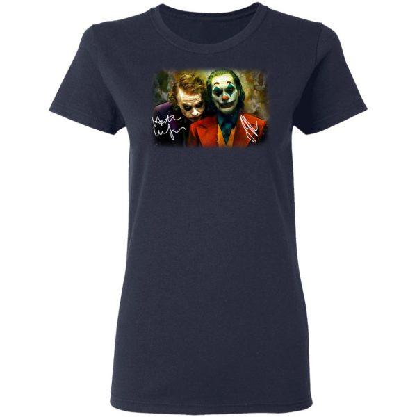 Joaquin Phoenix Joker Vs Heath Ledger Joker Shirt, Hoodie, Tank Apparel 9