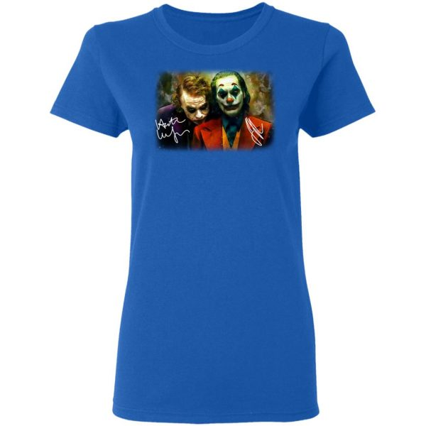Joaquin Phoenix Joker Vs Heath Ledger Joker Shirt, Hoodie, Tank Apparel 10