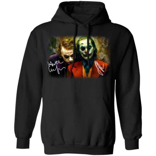 Joaquin Phoenix Joker Vs Heath Ledger Joker Shirt, Hoodie, Tank Apparel 11