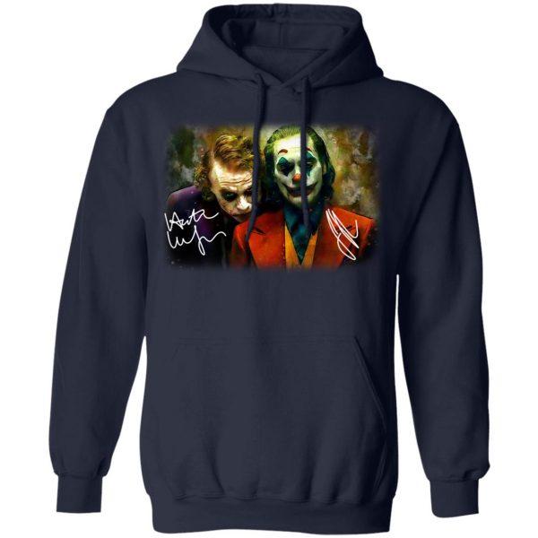 Joaquin Phoenix Joker Vs Heath Ledger Joker Shirt, Hoodie, Tank Apparel 12