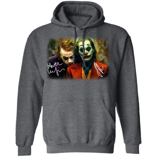Joaquin Phoenix Joker Vs Heath Ledger Joker Shirt, Hoodie, Tank Apparel 13