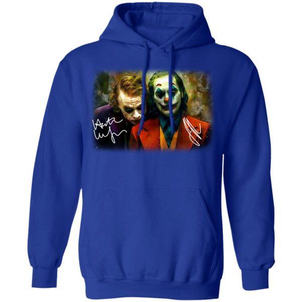 Joaquin Phoenix Joker Vs Heath Ledger Joker Shirt, Hoodie, Tank Apparel 14
