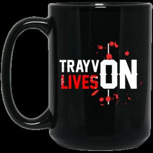 Trayvon Lives Trayvon Martin Mug Coffee Mugs 2