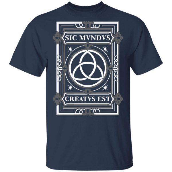 Sic Mvndvs Creatvs Est Sic Mundus Creatus Sci Fi Shirt, Hoodie, Tank Apparel