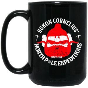 Yukon Cornelius North Pole Expeditions Yukon Cornelius Mug Coffee Mugs