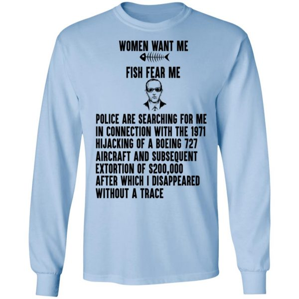 Women Want Me Fish Fear Me Shirt, Hoodie, Tank Apparel