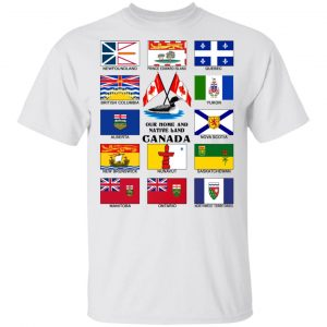 Our Home And Native Land Canada Shirt, Hoodie, Tank Apparel