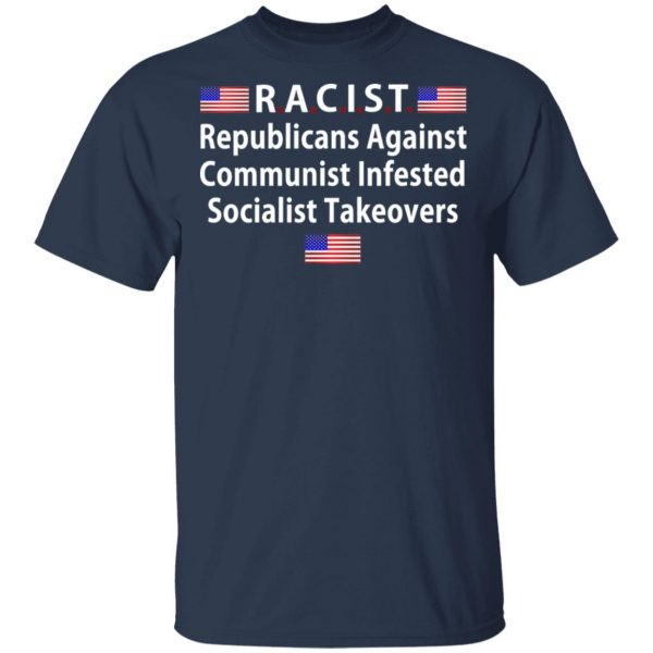 RACIST Republicans Against Communist Infested Socialist Takeovers Shirt, Hoodie, Tank Apparel 5