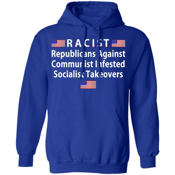RACIST Republicans Against Communist Infested Socialist Takeovers Shirt, Hoodie, Tank Apparel 14