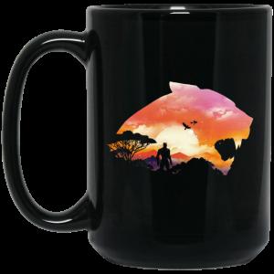 Wakanda Sunset Black Mug Coffee Mugs 2