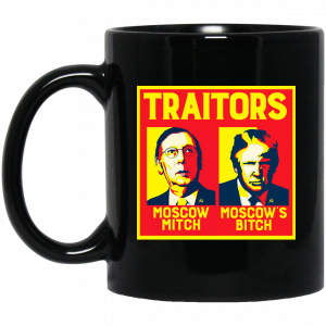 Traitors Ditch Moscow Mitch Mug Coffee Mugs