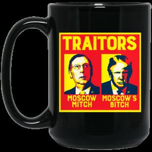 Traitors Ditch Moscow Mitch Mug Coffee Mugs 2