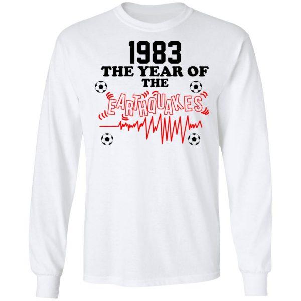 1983 The Year Of The Earthquakes San Jose Earthquakes Shirt, Hoodie, Tank Apparel