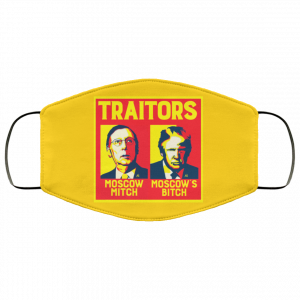 Traitors Ditch Moscow Mitch Face Mask Face Mask 2