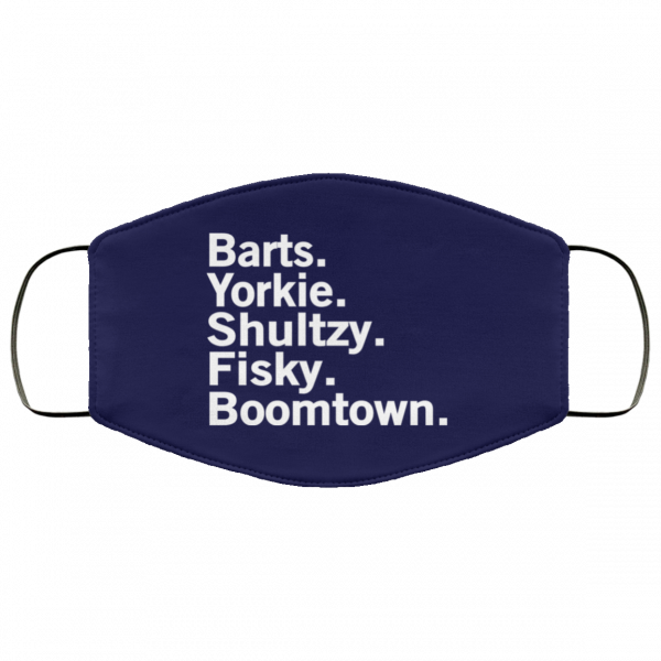 Barts Yorkie Shultzy Fisky Boomtown Face Mask Face Mask 7