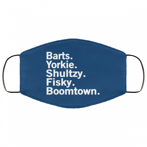 Barts Yorkie Shultzy Fisky Boomtown Face Mask Face Mask 13