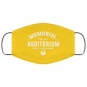 1940 1996 Memorial Auditorium Home Of The Buffalo Sabres Face Mask Face Mask