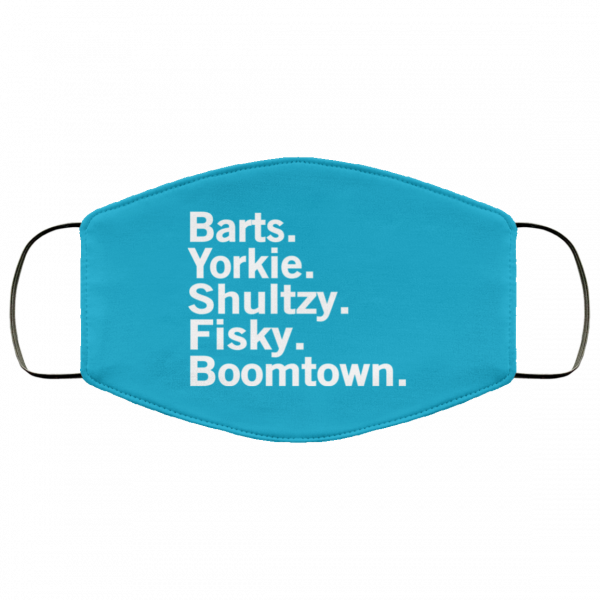 Barts Yorkie Shultzy Fisky Boomtown Face Mask Face Mask 17
