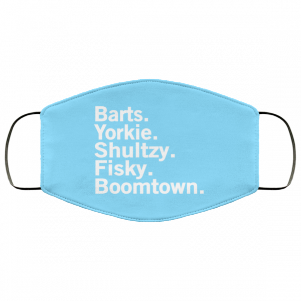 Barts Yorkie Shultzy Fisky Boomtown Face Mask Face Mask 22