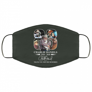 Remembering Charlie Daniels 1936 2020 Face Mask Face Mask
