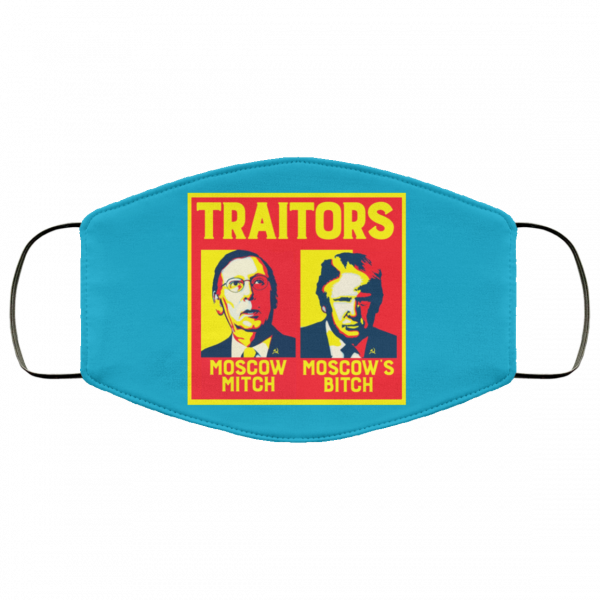 Traitors Ditch Moscow Mitch Face Mask Face Mask