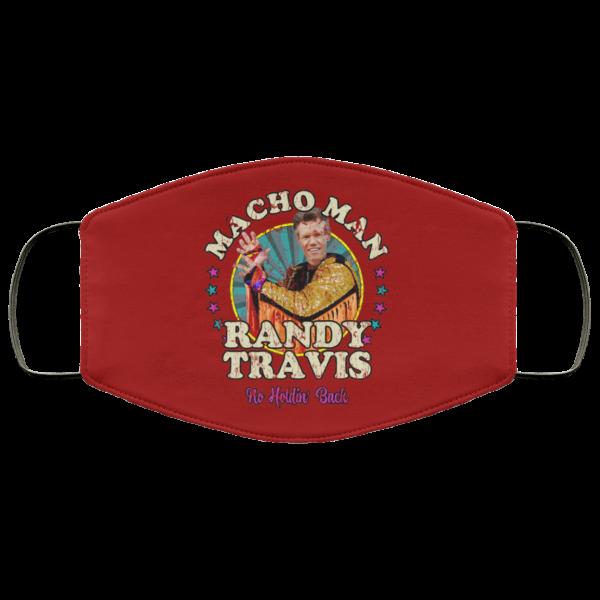 Macho Man Randy Travis No Holding Back Face Mask Face Mask 26