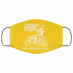 Tuesdays With Stories Mark Normand & Joe List Face Mask Best Selling 2