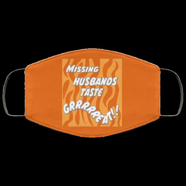 Toni The Maneater Missing Husbands Taste Face Mask Face Mask
