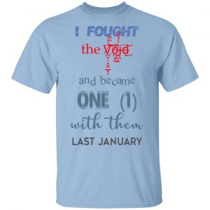 I Fought The Vojd And Became One With Them Last January Shirt, Hoodie, Tank Apparel