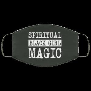 Spiritual Black Girl Magic Face Mask Face Mask