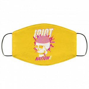 Green Day Idiot Nation 2014 Face Mask Face Mask