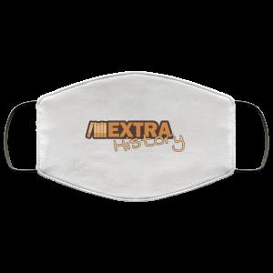 Extra History Logo Face Mask Face Mask