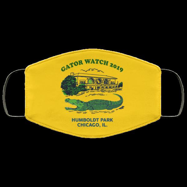 Gator Watch 2019 Humboldt Park Chicago IL Face Mask Face Mask 3