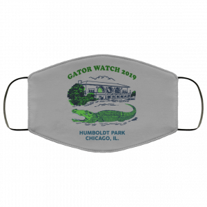 Gator Watch 2019 Humboldt Park Chicago IL Face Mask Face Mask