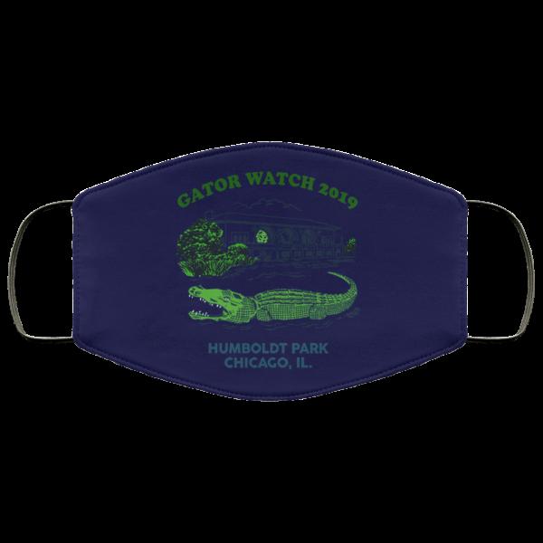 Gator Watch 2019 Humboldt Park Chicago IL Face Mask Face Mask 7