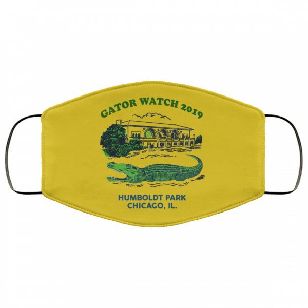 Gator Watch 2019 Humboldt Park Chicago IL Face Mask Face Mask 8
