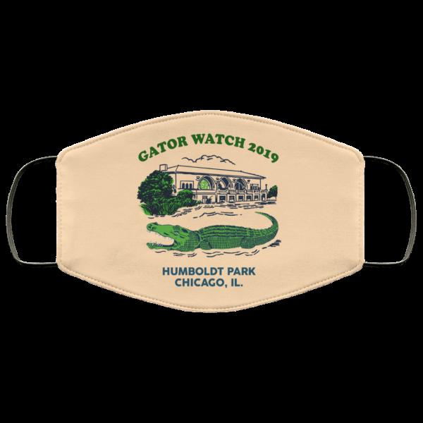 Gator Watch 2019 Humboldt Park Chicago IL Face Mask Face Mask 18