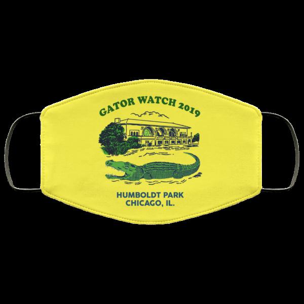Gator Watch 2019 Humboldt Park Chicago IL Face Mask Face Mask 19