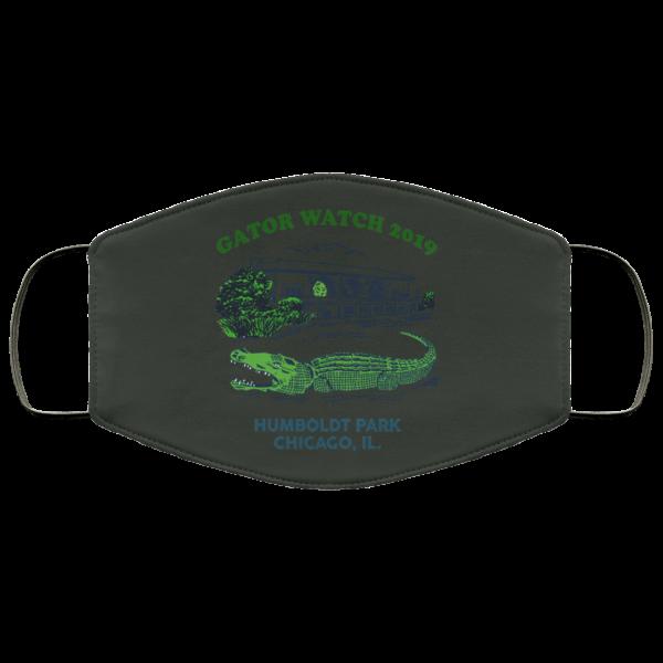 Gator Watch 2019 Humboldt Park Chicago IL Face Mask Face Mask 23