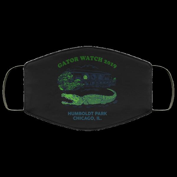 Gator Watch 2019 Humboldt Park Chicago IL Face Mask Face Mask 24